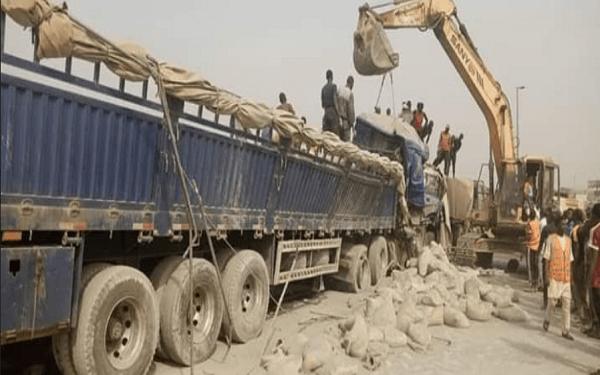 One dead as Dangote trucks collide in Abuja