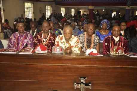 Nnamdi Kanu's parents' burial