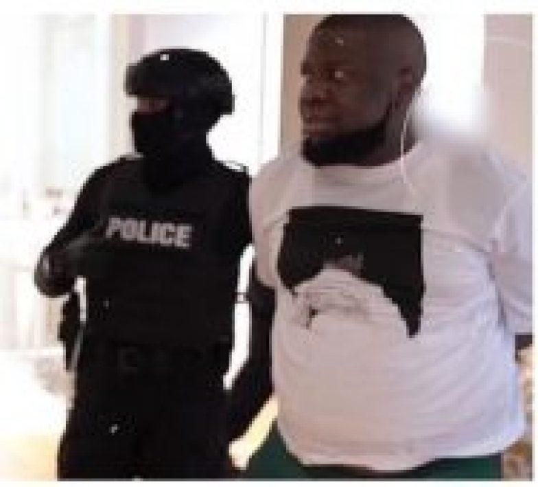 •Hushpuppi after his arrest