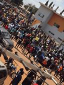 #EndSARS protest in Kaduna