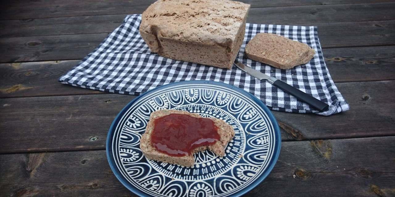 Wholesome pumpkin seed spelt bread