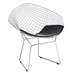 Black Wire Chair Children Table And Bertoia Diamond The Natural Furniture Company Ltd