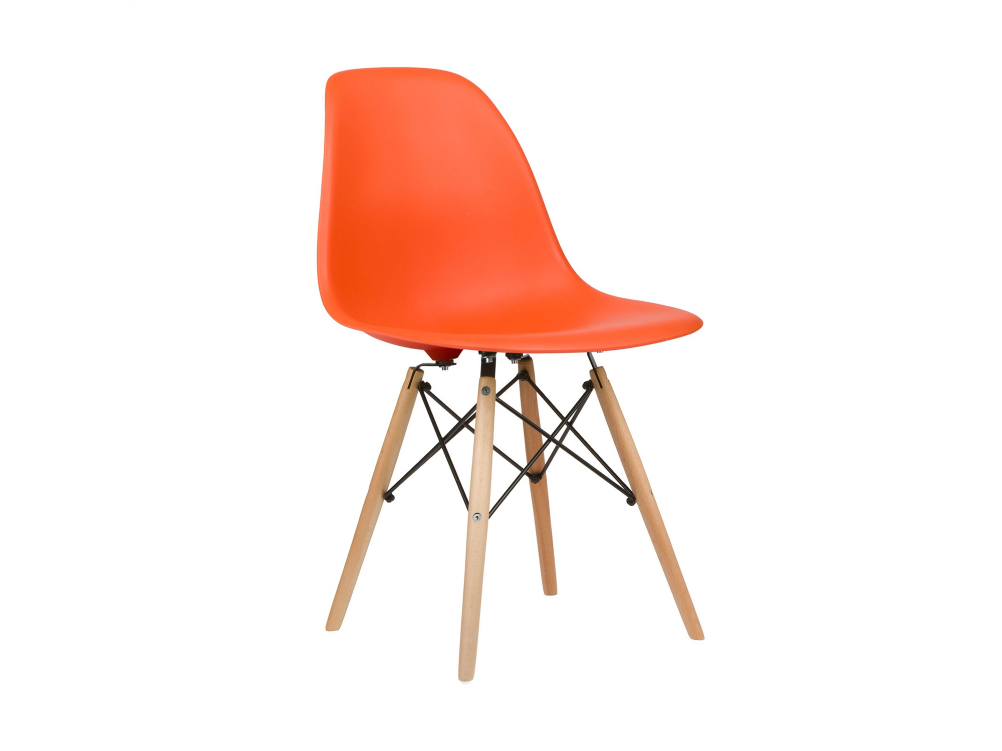 orange dining chairs uk toddler desk and chair eames style dsw side