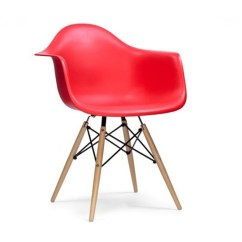 Rattan Arm Chair Places To Rent Covers Near Me Eames Style Daw Dowel Armchair