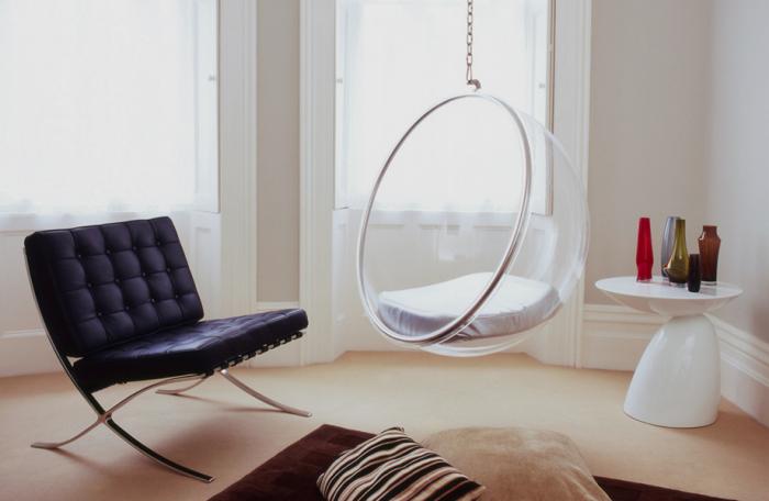 ikea egg chair ergonomic mesh mid back hanging bubble - the natural furniture company ltd