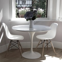 Tulip Dining Room Chairs Chair Slipcovers Target Table 90cm The Natural Furniture Company Ltd