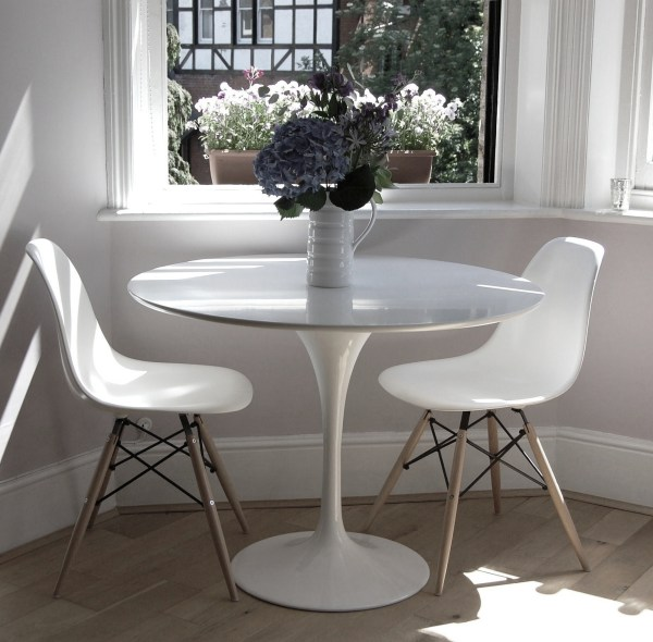 Tulip Dining Table 90cm - Natural Furniture Company