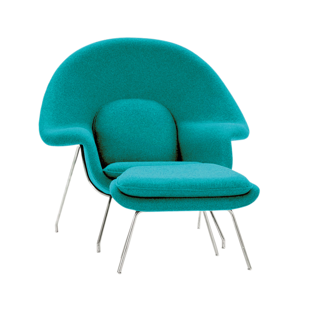 Womb Chair And Ottoman  The Natural Furniture Company Ltd