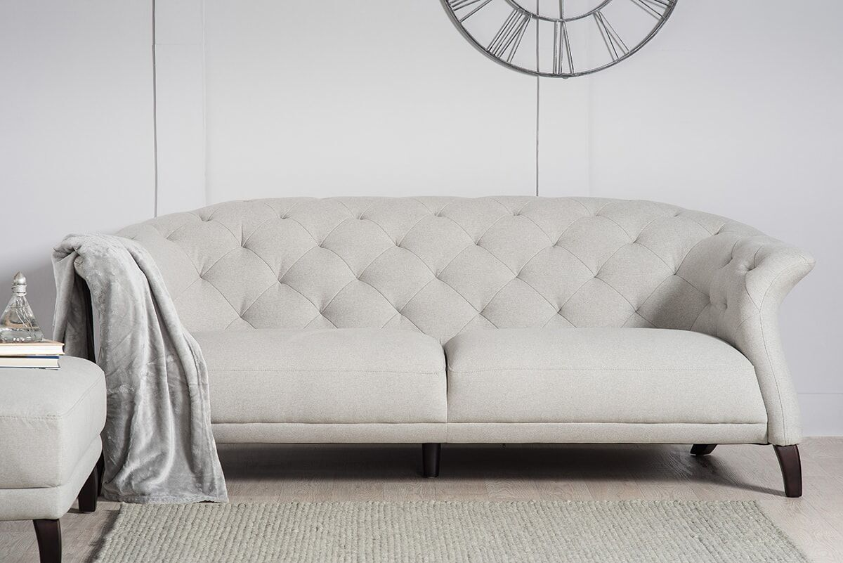 light grey sofa bed uk marlo furniture sectional crispin 4 seater modern chesterfield