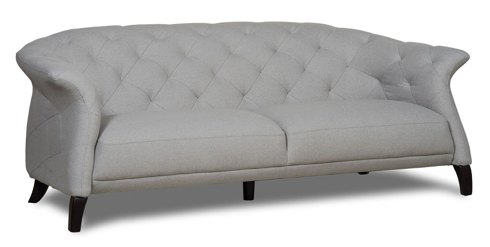light grey chesterfield sofa l shaped sofas for small rooms crispin 3 seater