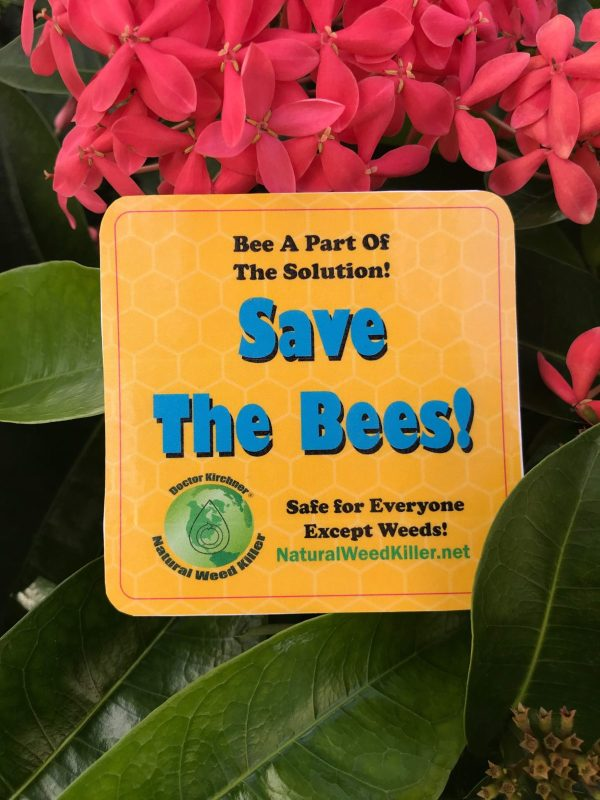 Doctor Kirchner Natural Weed Killer - Save the Bees