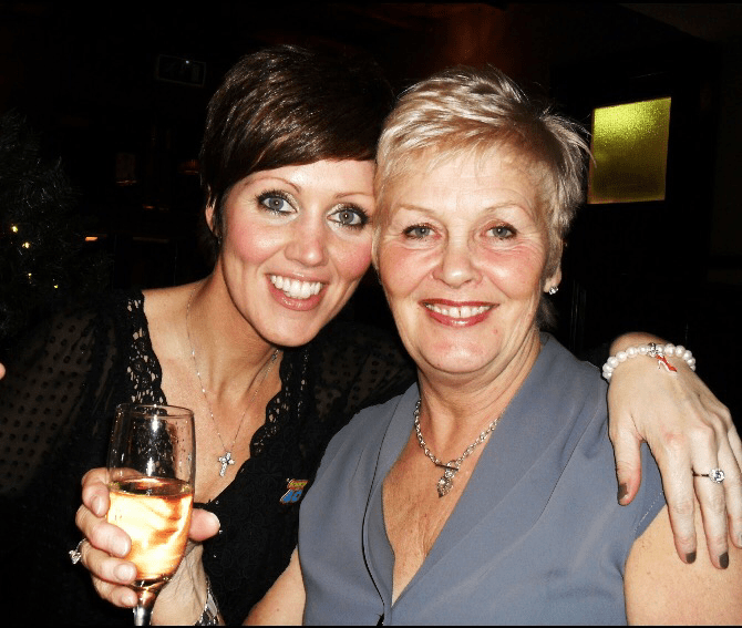 Gone ... but not forgotten. Mums cancer journey