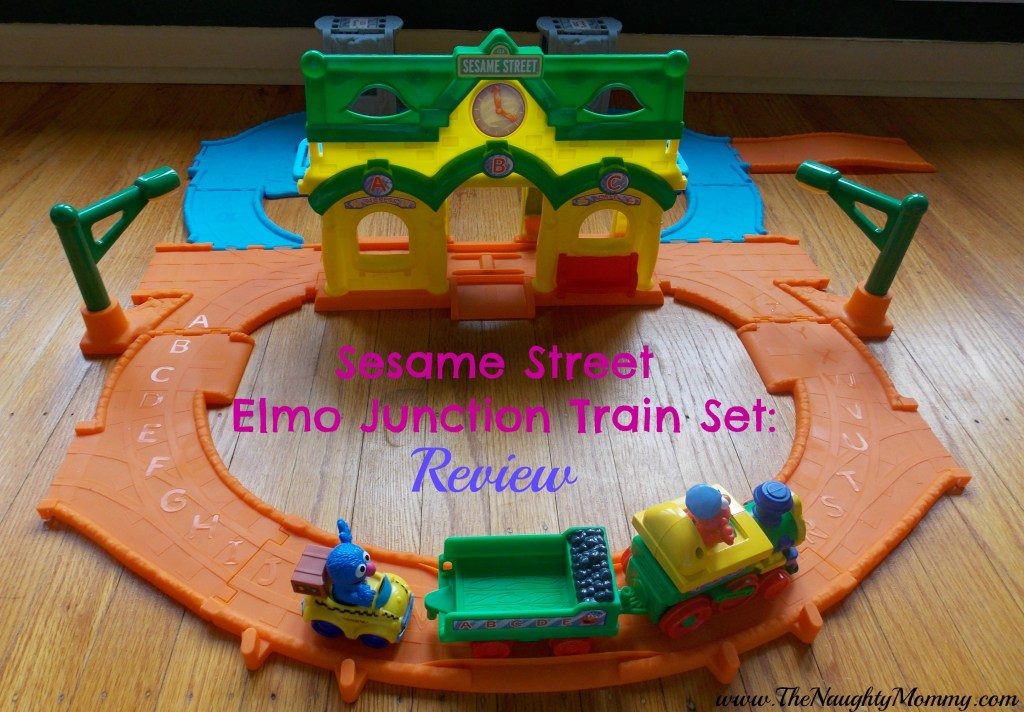 Sesame Street Elmo Junction Train Set Review