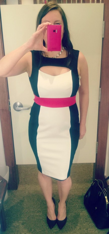 Bailey 44 Colorblock Dress from South Moon