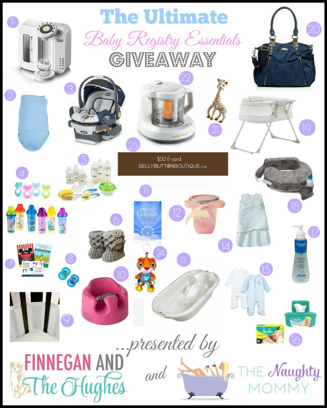 Baby Registry Essentials Giveaway