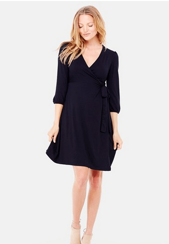 Maternity Wrap Dress