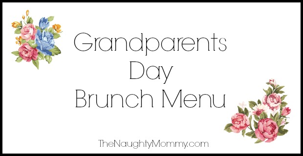 Grandparents Day Brunch Menu