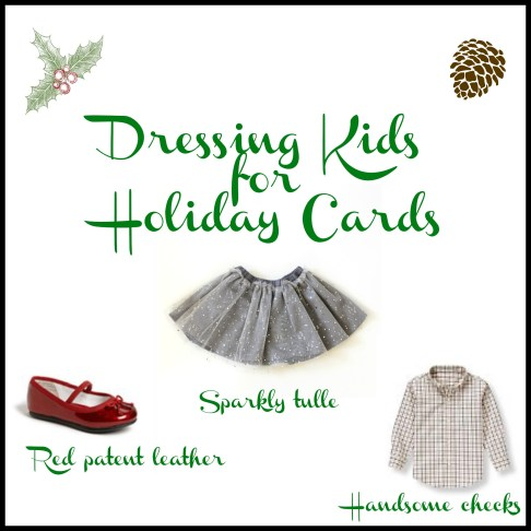 Dressing Kids for Holiday Cards