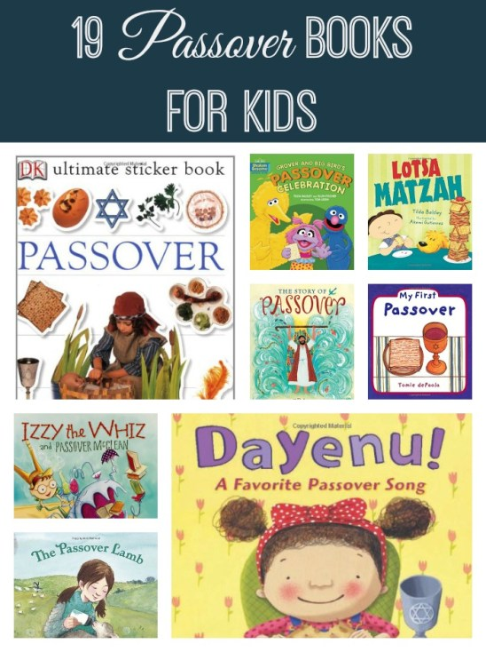 19 Passover Books for Kids