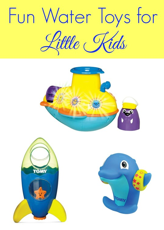 Fun Water Toys for Little Kids