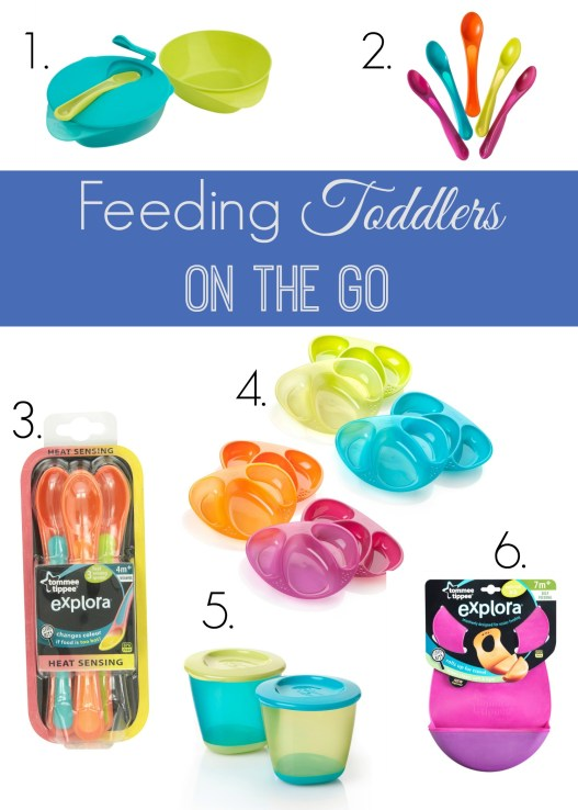 Feeding Toddlers on the Go