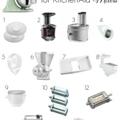 Kitchen Aid Mixer Parts Window Ideas 13 Best Accessories For Kitchenaid Mixers The Naughty Mommy
