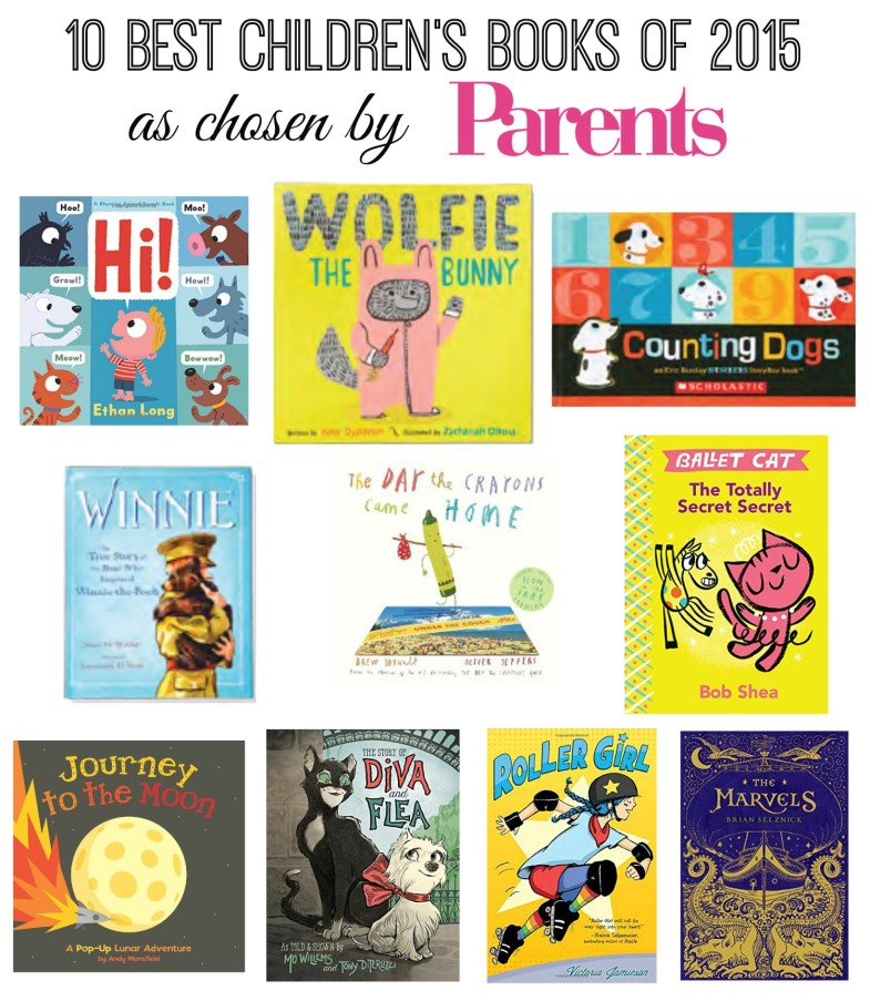 10 Best Children's Books of 2015