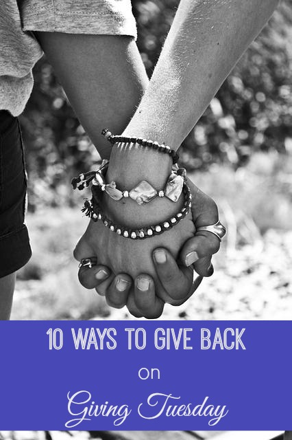 10 Ways to Give Back on Giving Tuesday
