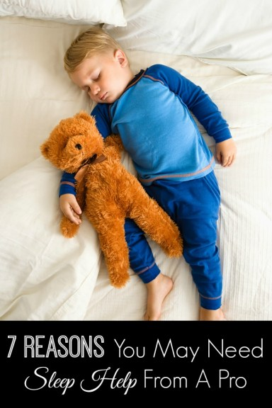 7 Reasons You May Need Sleep Help From a Pro
