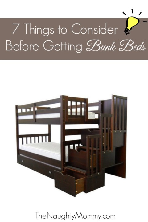 7 Things to Consider Before Getting Bunk Beds