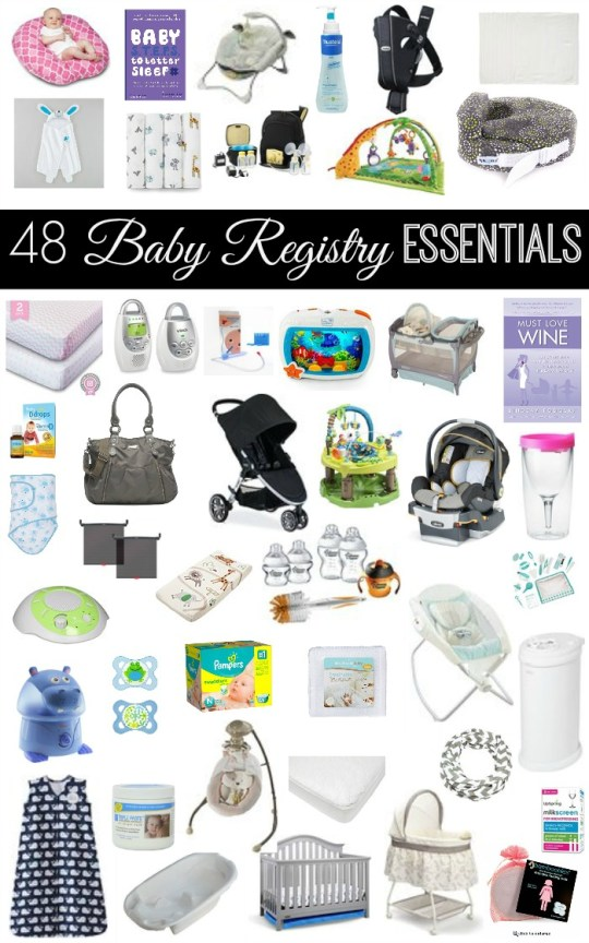 Baby Registry Essentails