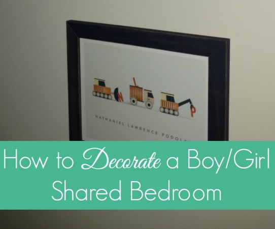 FB How to Decorate a BoyGirl Shared Bedroom