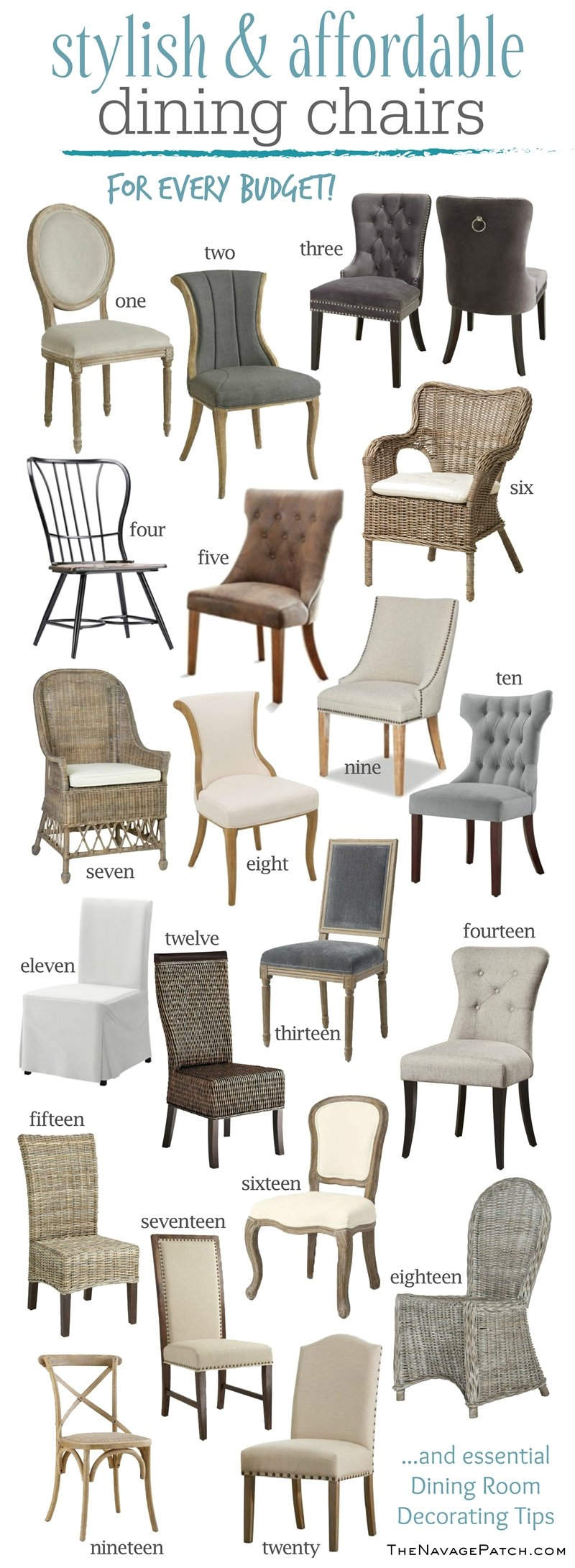 Inexpensive Chairs Dining Room Decor Tips And Inexpensive Dining Chair Options