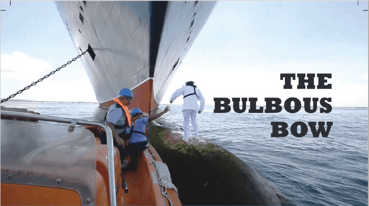 The bulbous bow – why some ships have it and others don't