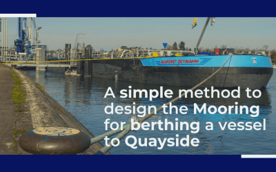 Designing the berth mooring of your vessel with this simple yet effective method