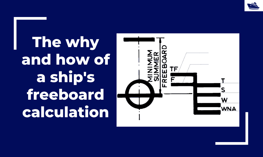 The why and how of freeboard calculation of a ship