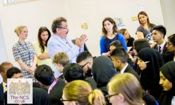 Lord Robert Winston visits Newham Collegiate Sixth Form Centre (The NCS) Scientists