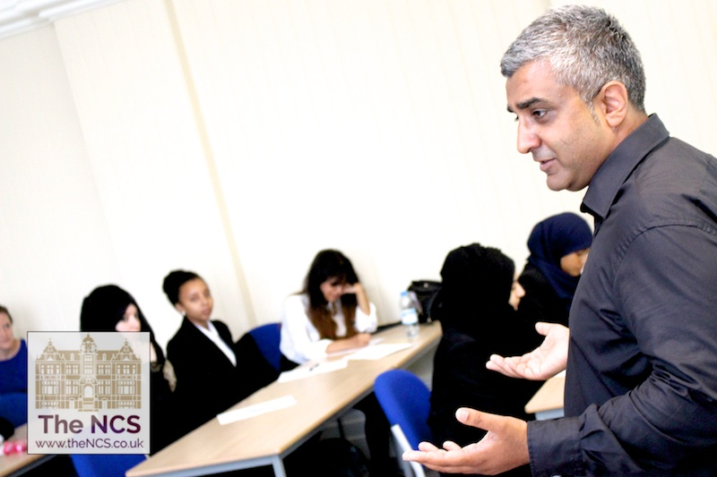Rizz Patel on the Newham Collegiate Sixth Form Centre (The NCS) Opening Day