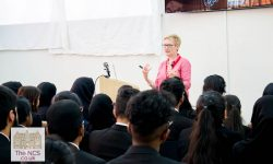 Leading Epigenetics Researcher And Author Nessa Carey Visits Newham Collegiate Sixth Form Centre (The NCS) Students - In Video