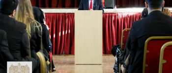 Sir Vince Cable Delivers A Lecture To Newham Collegiate Sixth Form Centre (The NCS) Students - In Video