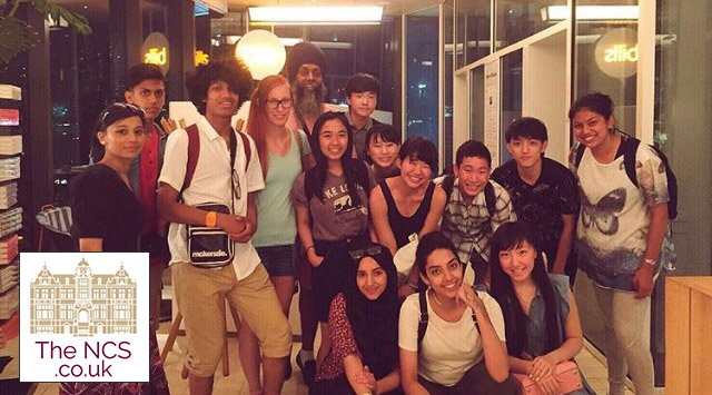 Newham Collegiate Sixth Form Centre (The NCS) Students On A Science Research Trip In Japan
