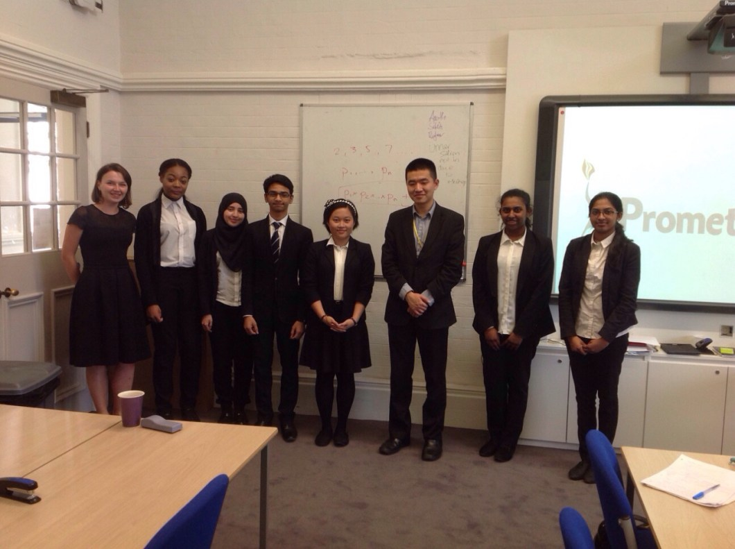 Lee Zhao Delivering A Maths Lecture At Newham Collegiate Sixth Form Centre (The NCS)