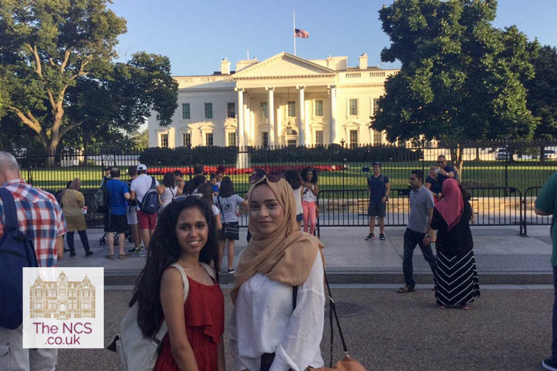 NCS Students Visit The White House As Part Of The Emerging Talent Programme
