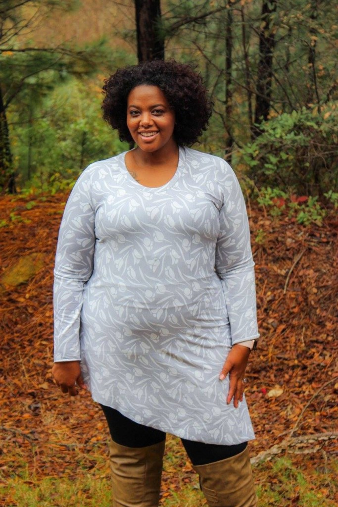 """I tested the new pattern by Ellie And Mac """"Watch And See Dress"""". It comes with a couple of different pattern options that make this dress super versatile!"""
