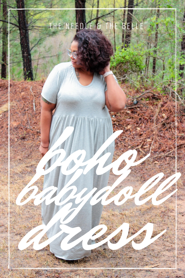 Growing up, my babydoll dress was on of my favorite outfits. Now Patterns for Pirates is helping me recreated my first love with the release of their Boho Babydoll Dress!!!