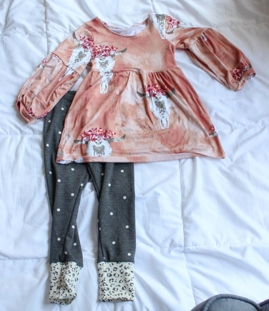 Hazel Blouse + Leggings