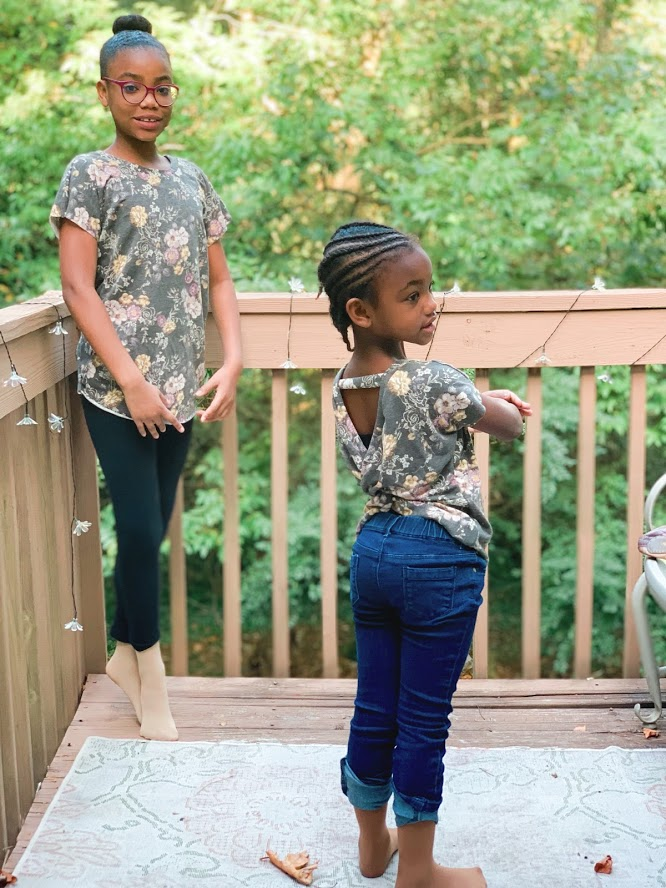 The newest pattern from Patterns for Pirates has dropped and it's the Twist Back Top! It comes in both youth and adults and is a must-have!
