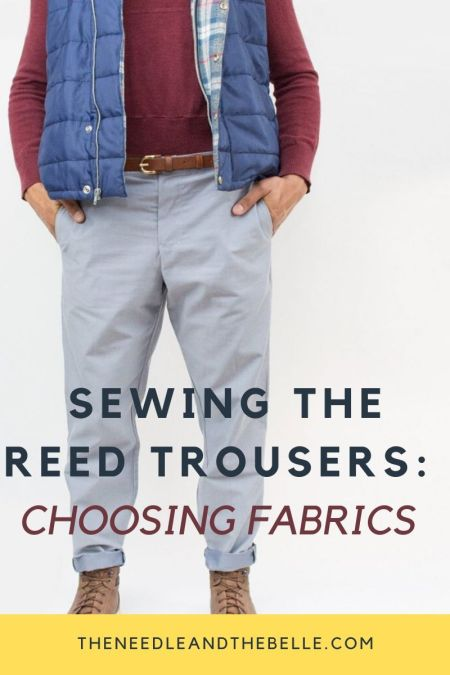 #SMS2020: Choosing Fabric For The Reed Trousers