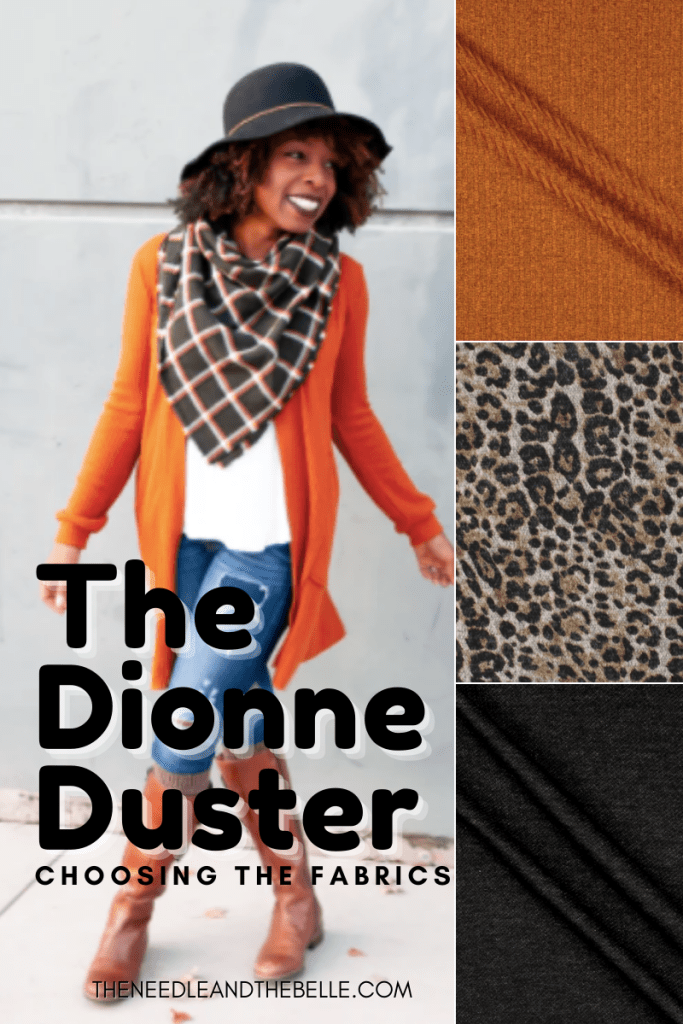 It's time for me to lead another month for the #SMS2020! I'm super excited about this sew which is the Dionne Duster. First up, fabrics.