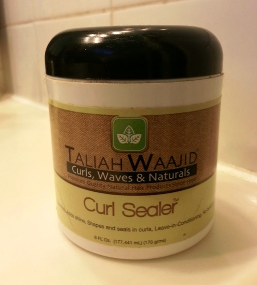 Product Review Taliah Waajid Curl Sealer The Neon Leopard